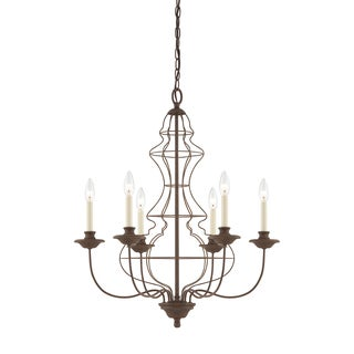 Quoizel 'Laila' 6-light Chandelier
