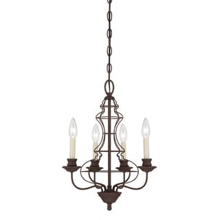 Quoizel 'Laila' 4-light Chandelier