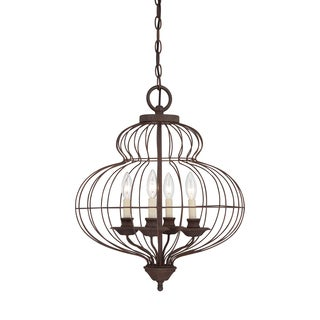 Quoizel 'Laila' 4-light Candelabra Chandelier