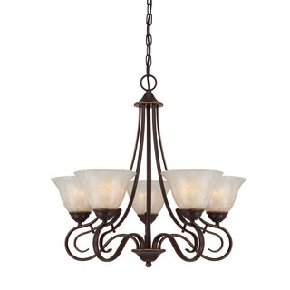 Quoizel 'Lillian' 5-light Chandelier
