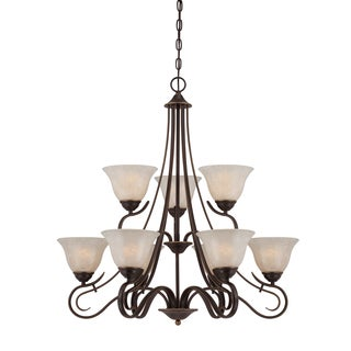 Quoizel 'Lillian' 9-light Chandelier