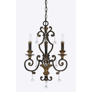 Quoizel 'Marquette' 3-light Chandelier