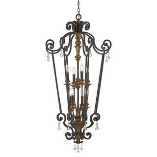 Quoizel 'Marquette' Heirloom 8-light Chandelier