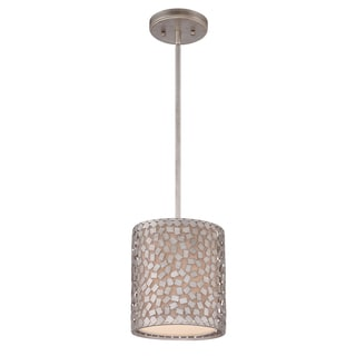 Quoizel 'Confetti' 1-light Mini-pendant