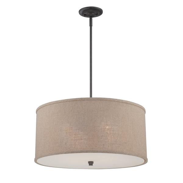 Quoizel 'Cloverdale' 4-light Pendant