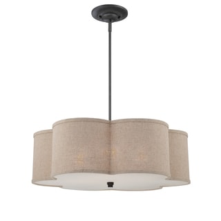 Quoizel 'Cloverdale' 4-light Large Pendant