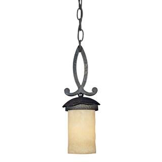 Quoizel 'La Parra' 1-light Mini-pendant