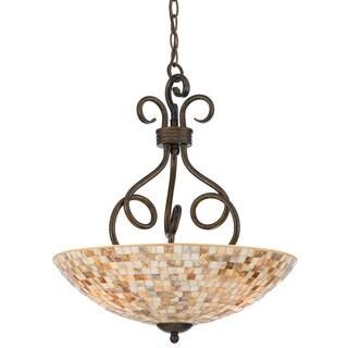 Quoizel 'Monterey Mosaic' 3-light Pendant