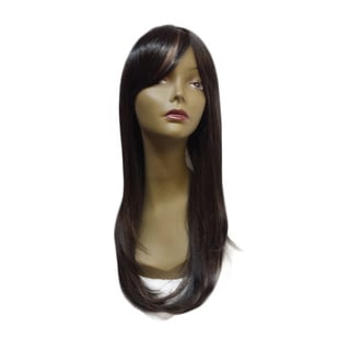 'Michelle' Long Straight 20-inch Synthetic Hair Wig