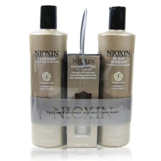 Nioxin System 5 Trio Gift Set for Normal to Thin Hair