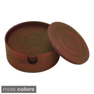 Bamboo 6-piece Coaster Set (Vietnam)