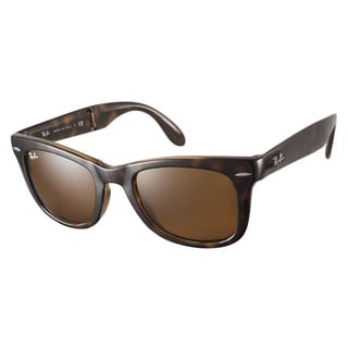 Ray-Ban RB4105 710 Folding Wayfarer Tortoise 50 Sunglasses