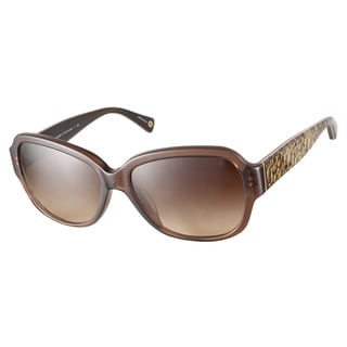 Coach HC8036F Pamela 5073 13 Brown Sunglasses