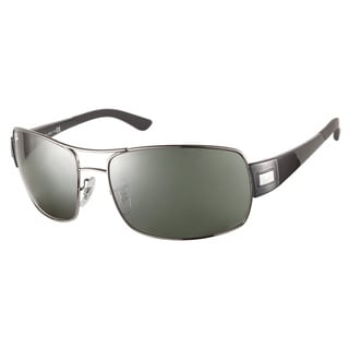 Ray-Ban RB3426 004 71 Gunmetal Green Sunglasses