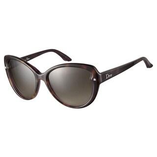 Dior Pondichery 1 XLU HA Tortoise Violet 55 Sunglasses