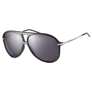 Dior Black Tie 129S CSA BN Black Silver 59 Sunglasses