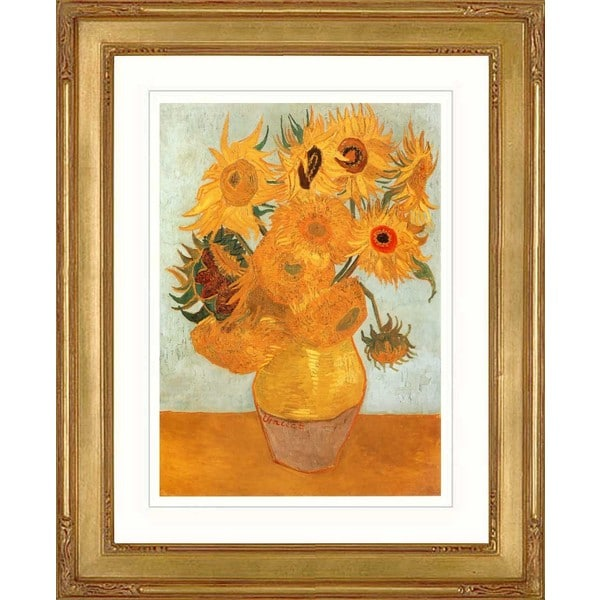 Vincent Van Gogh 'Sunflowers 2' Giclee Framed Art