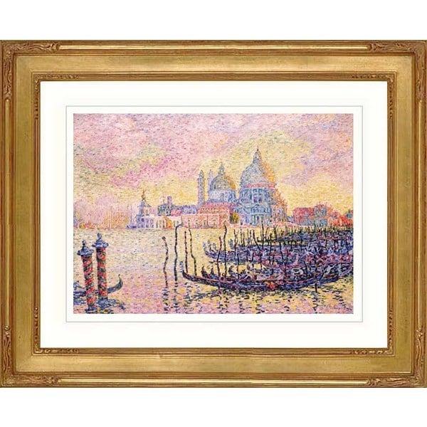 Paul Signac 'Grand Canal Venice' Framed Giclee Print