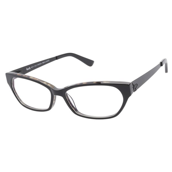 Touch by Alyssa Milano 105 Black Tortoise Prescription Eyeglasses