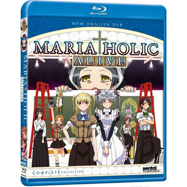 Maria Holic Alive!: Complete Collection (Blu-ray Disc) 12156345
