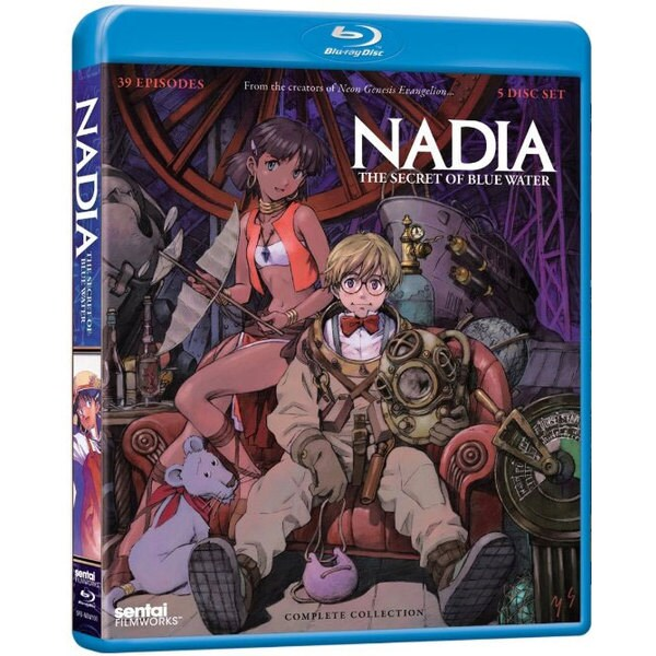 Nadia: The Secret of Blue Water: Complete Collection (Blu-ray Disc) 12156350
