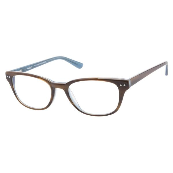 Touch by Alyssa Milano 104 Havana Blue Prescription Eyeglasses