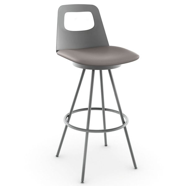 Amisco Ovo 30 Inch Swivel Bar Stool 15883886 Overstock