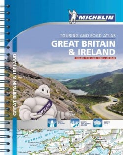 Michelin Great Britain & Ireland Touring and Road Atlas (Paperback)