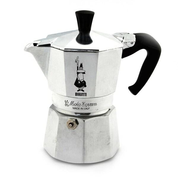 Bialetti Moka Express 3-Cup Stovetop Percolator/Espresso Maker