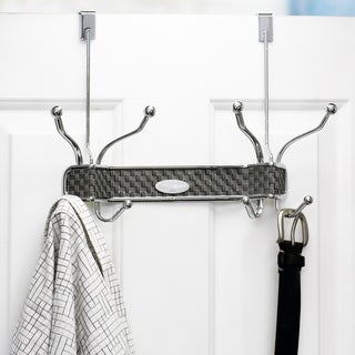 Samsonite 8-hook Chrome Over The Door Hanger