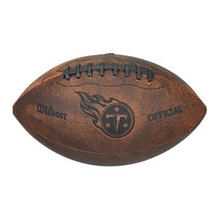 Wilson Tennessee Titans 9-inch Leather Football
