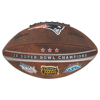 New England Patriots 9-inch Leather Football