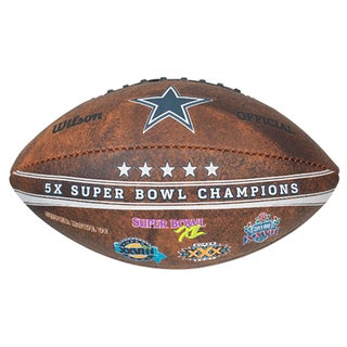 Dallas Cowboys 9-inch Leather Football