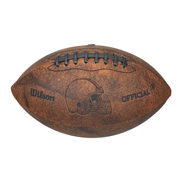 Cleveland Browns 9-inch Leather Football