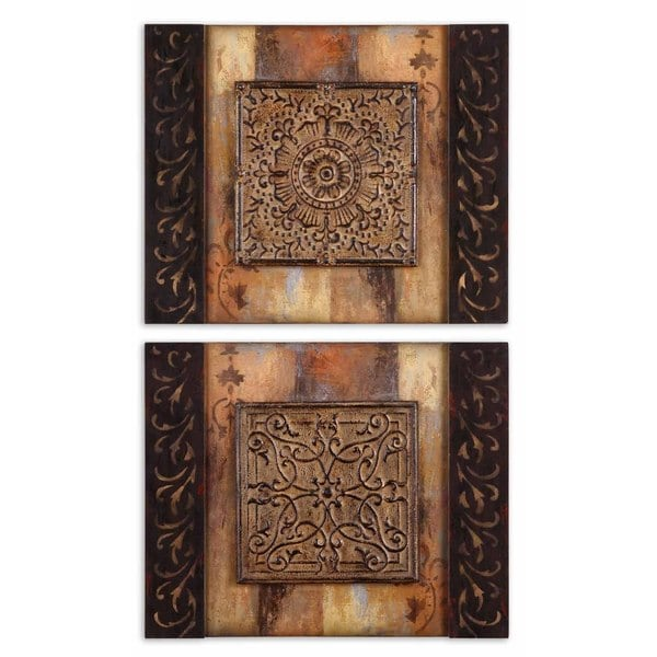 Uttermost Ornamentational Block I, II Set 2