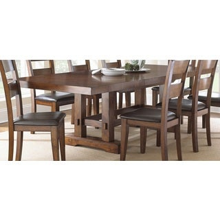 Denver 108 inch trestle table overstock shopping for 108 inch dining table