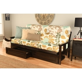 Espresso Innerspring Multi-Flex Futon Set