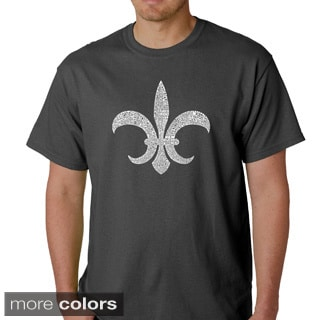 Men's 'Louisiana' Short Sleeve T-shirt