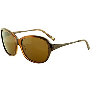 Tommy Bahama Women's 'TB7017 219' Caramel Polarized Fashion Sunglasses