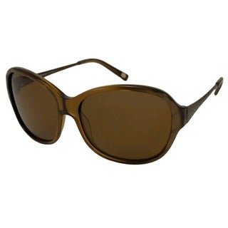 Tommy Bahama Women's 'TB7016 219' Caramel Polarized Sunglasses