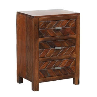 Zaire 3-drawer Side Table