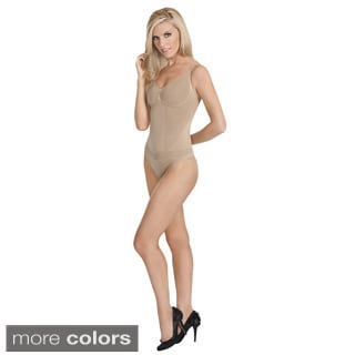 Julie France Body Shapers Comfortable Regular Firm Control High Waist Thong Shaper