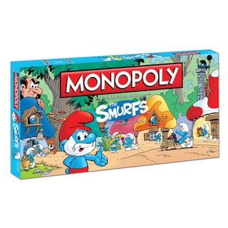 Monopoly The Smurfs Collector's Edition