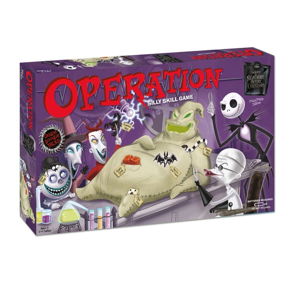 Operation The Nightmare Before Christmas Collector's Edition Board Game
