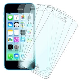 INSTEN Clear Screen Protector for Apple iPhone 5/ 5S/ 5C (Pack of 6)