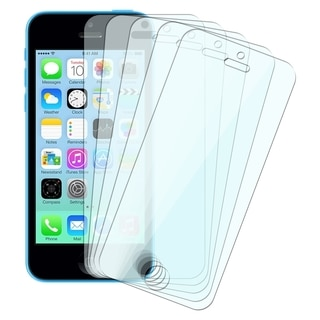 INSTEN Clear Screen Protector for Apple iPhone 5/ 5S/ 5C (Pack of 5)