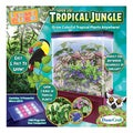 LED Light Cube Terrariums Tropical Jungle