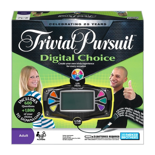 Trivial Pursuit Digital Choice 12158459