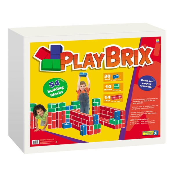 PlayBrix 54 Building Blocks Set