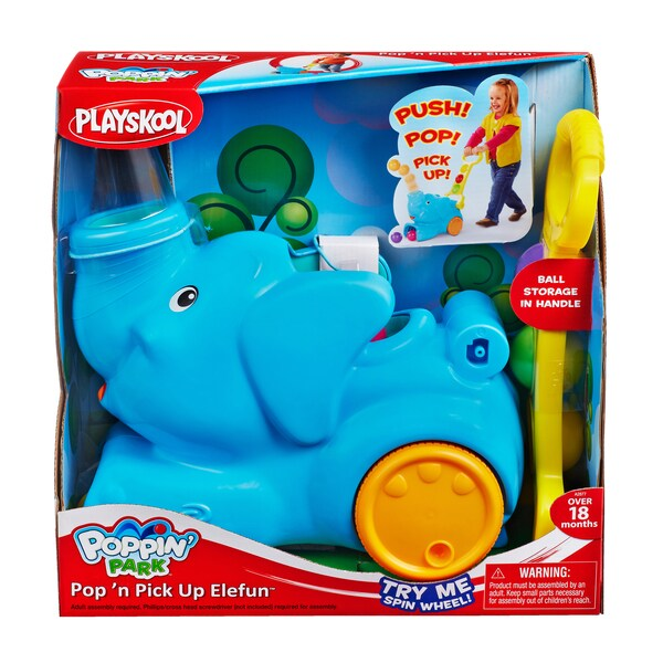 Playskool Poppin Park Pop 'n Pick Up Elefun